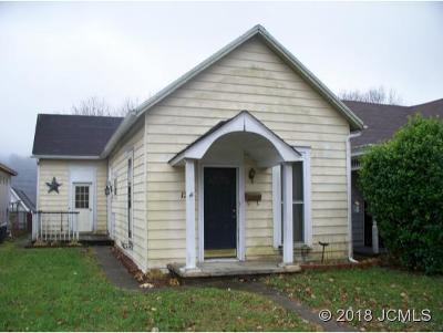 Madison IN Single Family Home For Sale: $89,900