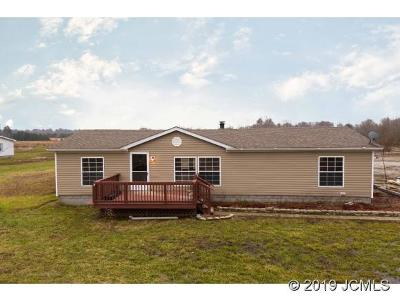 Single Family Home For Sale: 6304 Bethlehem New Washington Rd.