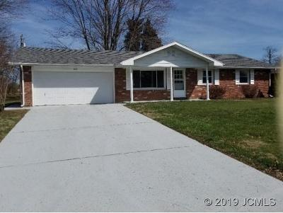Madison IN Single Family Home For Sale: $129,000