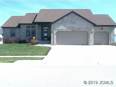 Single Family Home For Sale: 192 Shamrock Dr