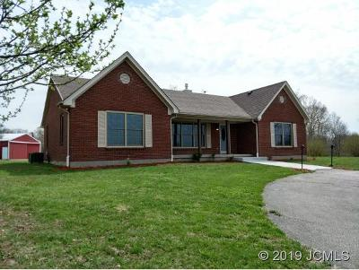 Single Family Home For Sale: 6543 Long Rd