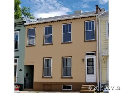 Single Family Home For Sale: 604 Jefferson St