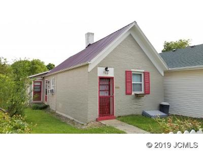 Madison IN Single Family Home For Sale: $66,000