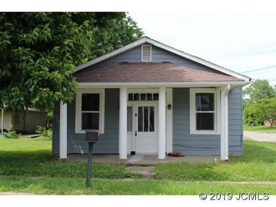 Madison IN Single Family Home For Sale: $79,000