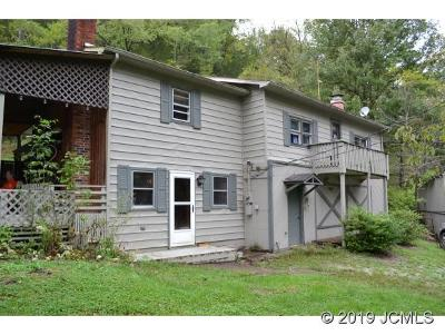 Single Family Home For Sale: 61 Shirks Hollow Rd