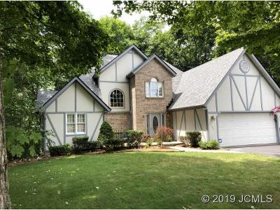 Single Family Home For Sale: 2509 Poplar Ridge Ln