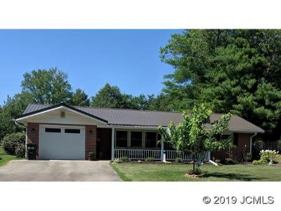 Single Family Home For Sale: 1320 Monroe Dr
