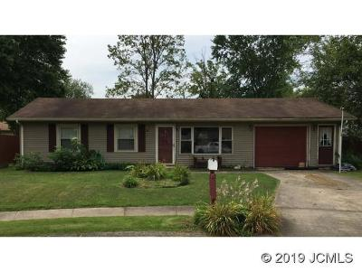 Madison IN Single Family Home For Sale: $109,900
