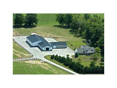 Sheridan, Westfield, Fortville, Carmel, Noblesville, Atlanta Farm For Sale: 19815 Mule Barn Road