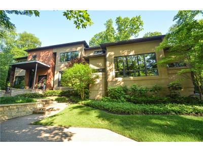 Zionsville Single Family Home For Sale: 11548 Willow Springs Drive