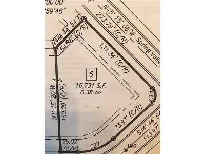 Plainfield Residential Lots & Land For Sale: 8137 Spring Valley Drive