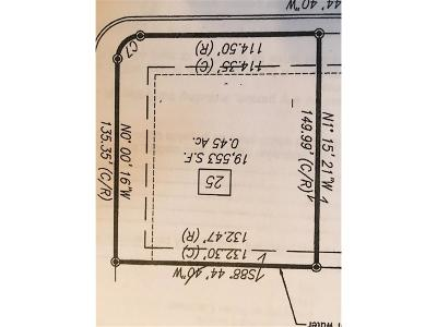 Plainfield Residential Lots & Land For Sale: 8230 Spring Valley Drive