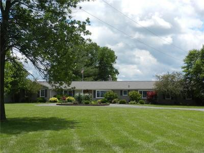 Whitestown Single Family Home For Sale: 7529 East 100 S