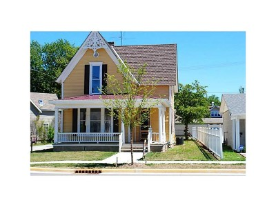Rushville Single Family Home For Sale: 716 North Main Street