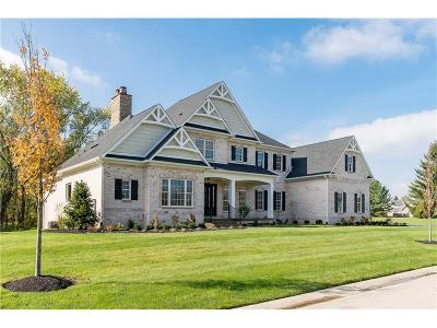 Zionsville Single Family Home For Sale: 6900 Oldfield Lane