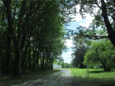 Lebanon Residential Lots & Land For Sale: 3201 North State Road 39 #Lot 3