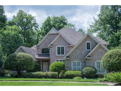 Zionsville Single Family Home For Sale: 4170 Creekside Pass