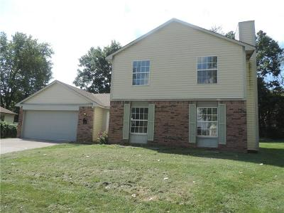 Marion County Single Family Home For Sale: 6834 Bannock Circle