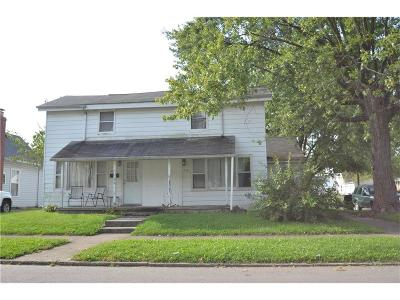 Greenfield Single Family Home For Auction: 623 West Fifth Street