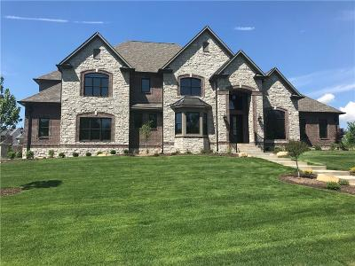 Zionsville Single Family Home For Sale: 6760 Wellington Circle