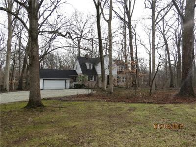 Indianapolis Single Family Home For Sale: 7905 North Ridge Road