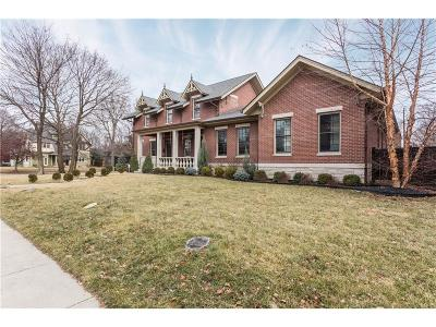 Indianapolis Single Family Home For Sale: 1239 North Park Avenue
