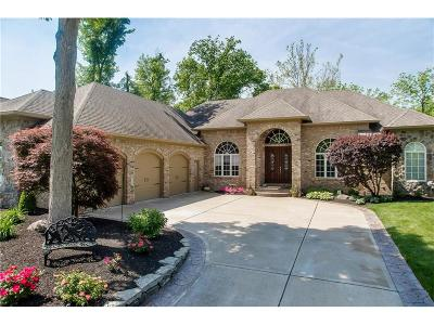 Fishers Single Family Home For Sale: 14555 Geist Ridge Drive