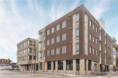 Indianapolis Condo/Townhouse For Sale: 319 East 16th Street #406