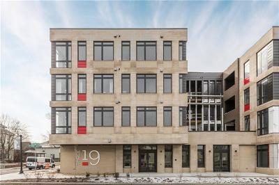 Indianapolis Condo/Townhouse For Sale: 319 East 16th Street #307