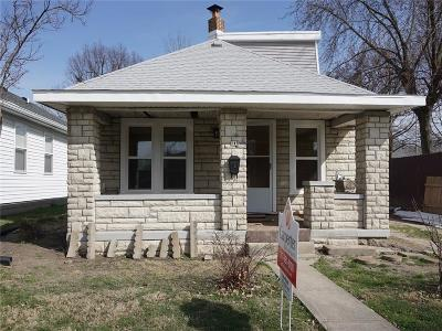 Beech Grove Single Family Home For Sale: 145 South 7th Avenue