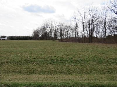 Henry County Residential Lots & Land For Sale: West County Road 750 S