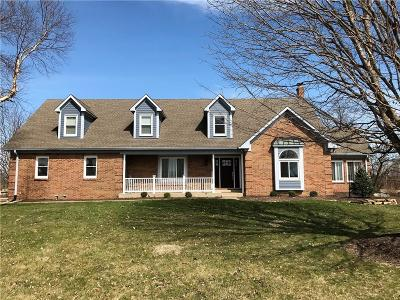 Noblesville Single Family Home Active W Contingency: 5586 East 191st Street