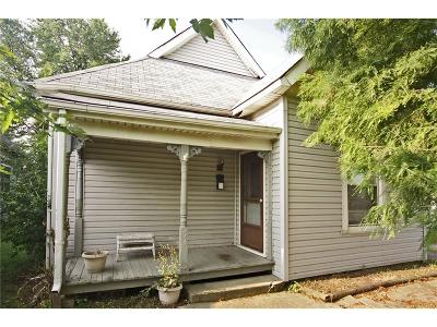 Indianapolis Single Family Home For Sale: 53 East Raymond Street
