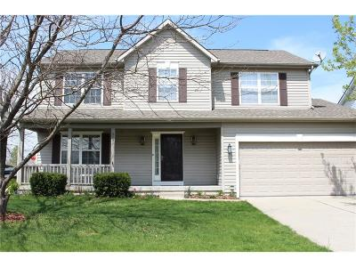 Zionsville Single Family Home For Sale: 6502 Kingsbury Way
