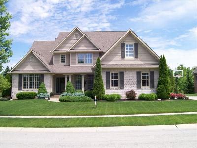Fishers Single Family Home For Sale: 11445 Merlin Court