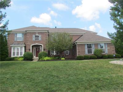 Zionsville Single Family Home For Sale: 4961 South Cobblestone Drive