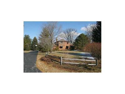 Plainfield, Plainflied Farm For Sale: 5176 East County Road 600 South