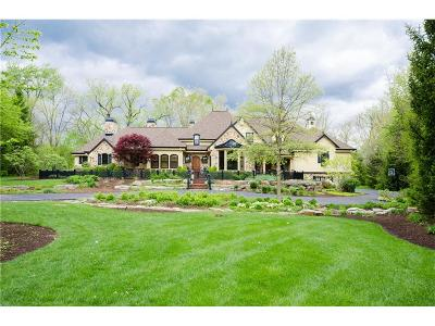 Zionsville Single Family Home For Sale: 6 Woodard Place