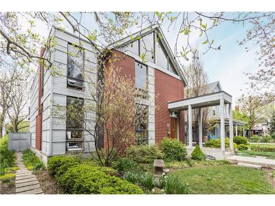 Indianapolis Single Family Home For Sale: 1434 North Park Avenue