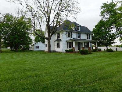 New Palestine Single Family Home For Sale: 6238 West Us Highway 52
