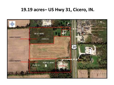 Cicero Commercial Lots & Land For Sale: 22010 Us Hwy 31 N