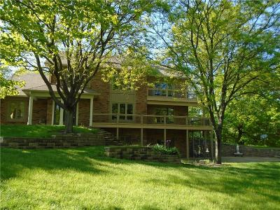 Zionsville Single Family Home For Sale: 8275 East 250 S