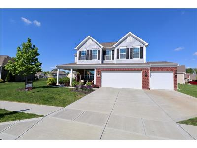 Indianapolis Single Family Home For Sale: 4823 Black Marlin Drive