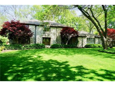 Zionsville Single Family Home For Sale: 740 Wood Court