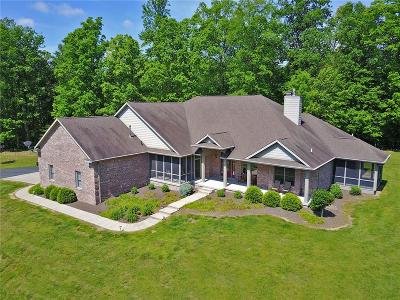 Martinsville IN Single Family Home For Sale: $499,900