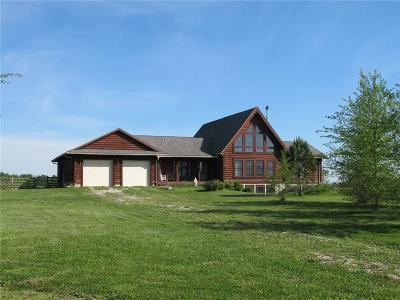 Henry County Single Family Home For Sale: 1881 West County Road 650 N