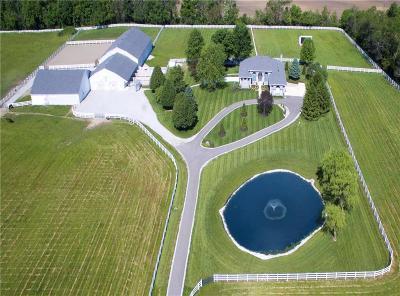 Noblesville Farm For Sale: 18751 Mallery Road