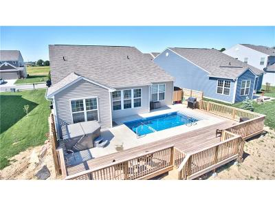Whitestown Single Family Home For Sale: 6581 Keepsake Drive