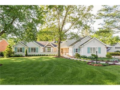 Zionsville Single Family Home For Sale: 645 Bloor Lane
