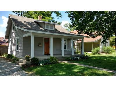 Marion County Single Family Home Active W Contingency: 6566 Carrollton Avenue